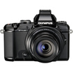 Olympus - Stylus 1 12.0-Megapixel Digital Camera - Black