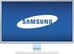 "Samsung - 23.6"" HD Monitor - Glossy White"