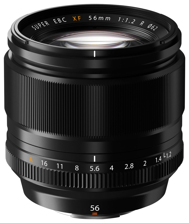 Fujifilm - Fujinon XF 56mm f/1.2 R Midrange Telephoto Lens for Most Fujifilm X-Series Cameras - Black