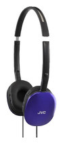 JVC - FLATS Over-the-Ear Headphones - Blue
