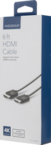 Insignia™ - 6' HDMI Cable - Black