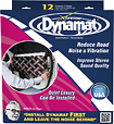 "Dynamat - Xtreme 12"" x 36"" Door Dampening Sheets (4-Pack) - Aluminum/Black"