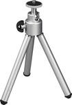 """Insignia™ - 5.5"""" Mini Tripod - Aluminum Silver Shine"""