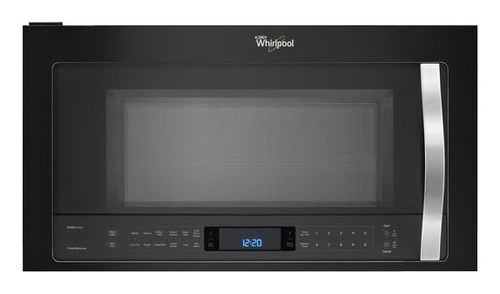 Whirlpool - 2.1 Cu. Ft. Over-the-Range Microwave - Black Ice