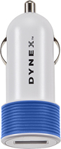Dynex™ - USB Vehicle Charger - Blue