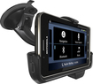 Motorola - Vehicle Navigation Dock for Motorola DROID Bionic Mobile Phones - Black