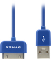 Dynex™ - 3' Apple® 30-Pin Cable - Blue
