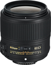 Nikon - AF-S NIKKOR 35mm f/1.8G ED Prime Lens for Select Nikon DSLR Cameras - Black