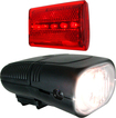 Whetstone - Bicycle Headlight and Taillight - Black/Red