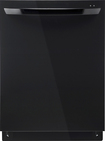 "LG - 24"" Tall Tub Built-In Dishwasher - Black"