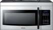 Samsung - 1.6 Cu. Ft. Over-the-Range Microwave - Stainless Steel
