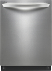 "LG - TrueSteam 24"" Built-In Dishwasher - Stainless-Steel"