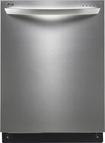 "LG - SteamDishwasher 24"" Tall Tub Built-In Dishwasher - Stainless-Steel"