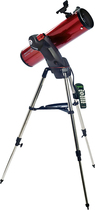 Celestron - SkyProdigy 130 Reflector Fully Automatic Telescope - Red
