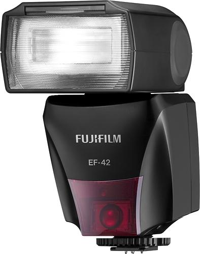 FUJIFILM - EF-42 External Flash - Black
