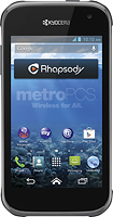 MetroPCS - Kyocera Hydro XTRM 4G No-Contract Cell Phone - Black