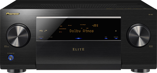 Pioneer Elite - 760W 9.2-Ch. Network-Ready 4K Ultra HD and 3D Pass-Through A/V Home Theater Receiver - Black
