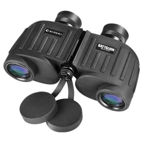 Barska - Battalion 8x30 Binocular - Black