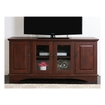 "Walker Edison - Wasatch TV Console for Flat-Screen TVs Up to 55"" - Brown"