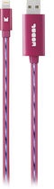 Modal - 3' Lightning Charge-and-Sync Cable - Pink