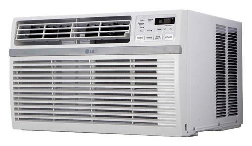 LG - 15,000 BTU Window Air Conditioner - White