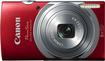 Canon - PowerShot ELPH-140 IS 16.0-Megapixel Digital Camera - Red