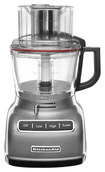 Kitchenaid - 9-cup Food Processor - Contour Silver 4212126