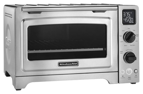kitchenaid countertop convection oven stainless steel angle - Pizza Oven For Sale