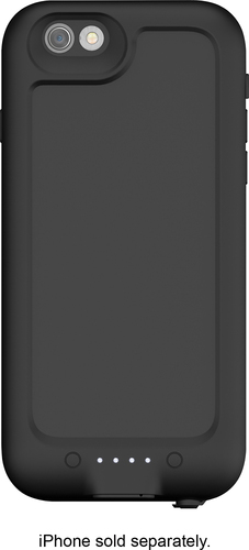 mophie - juice pack H2PRO External Battery Case for Apple® iPhone® 6 and 6s - Black