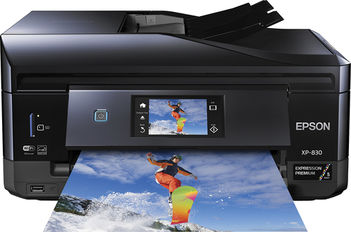 Epson - Expression Premium XP-830 All-In-One Printer - Black