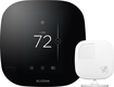 Ecobee - Ecobee3 Programmable Touch-screen Wi-fi Thermostat (2nd Generation) - Black/white