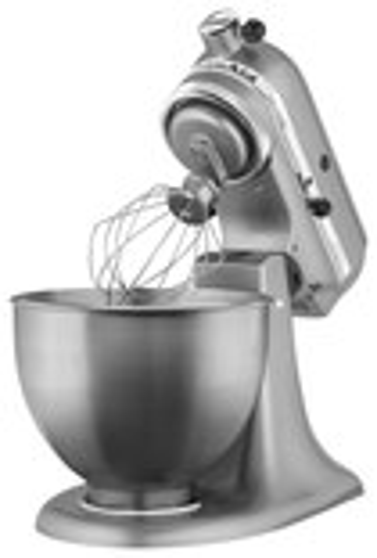 KitchenAid - Ultra Power Tilt-Head Stand Mixer - Contour Silver