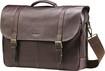 Samsonite - Flapover Laptop Briefcase - Brown
