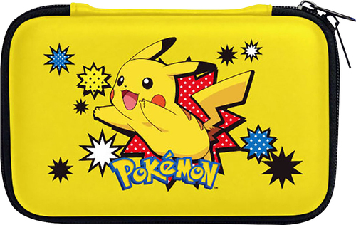 Hori - Pikachu Hard Pouch for Nintendo New 3DS XL - Yellow