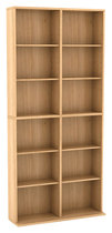 Atlantic - Oskar Media Storage Cabinet - Maple