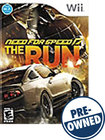 Need For Speed: The Run - PRE-OWNED - Nintendo Wii
