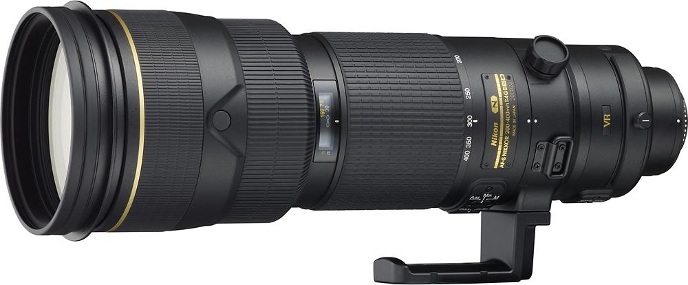 Nikon - AF-S NIKKOR 200-400mm f/4G ED VR II Telephoto Zoom Lens - Black