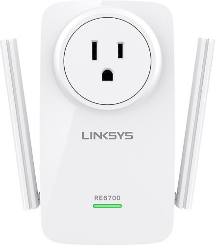 Linksys - AC1200 Wireless Range Extender - White