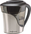Zerowater - 8-cup Water Filtration Pitcher - Black/stainless