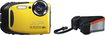 Fujifilm - XP70 16.4-Megapixel Waterproof Digital Camera - Yellow