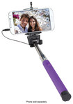 Digital Treasures - Clickstick! Wired Selfie Stick - Purple