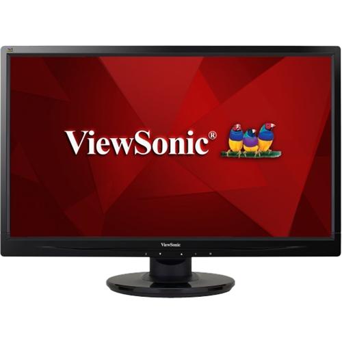 ViewSonic - 27 LED HD Monitor - Black
