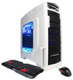 CyberPowerPC - Gamer Ultra Desktop - 8GB Memory - 1TB Hard Drive - White/Blue