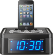 Insignia™ - Digital FM Dual-Alarm Clock Radio - Black