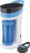 Mr. Coffee - Brew Pour And Go Single-serve Coffeemaker - Blue