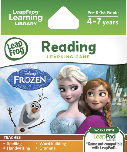 Disney Frozen Learning Game for Select LeapPad Tablets - LeapPad2