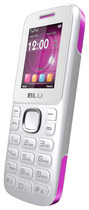 Blu - Jenny TV 2.8 T176T Cell Phone (Unlocked) - White/Pink