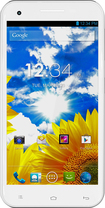 Blu - Studio 5.5 Cell Phone (Unlocked) - White