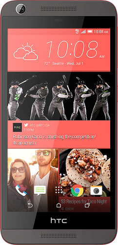 T-Mobile Prepaid - HTC Desire 626s 4G with 8GB Memory No-Contract Cell Phone - Gray
