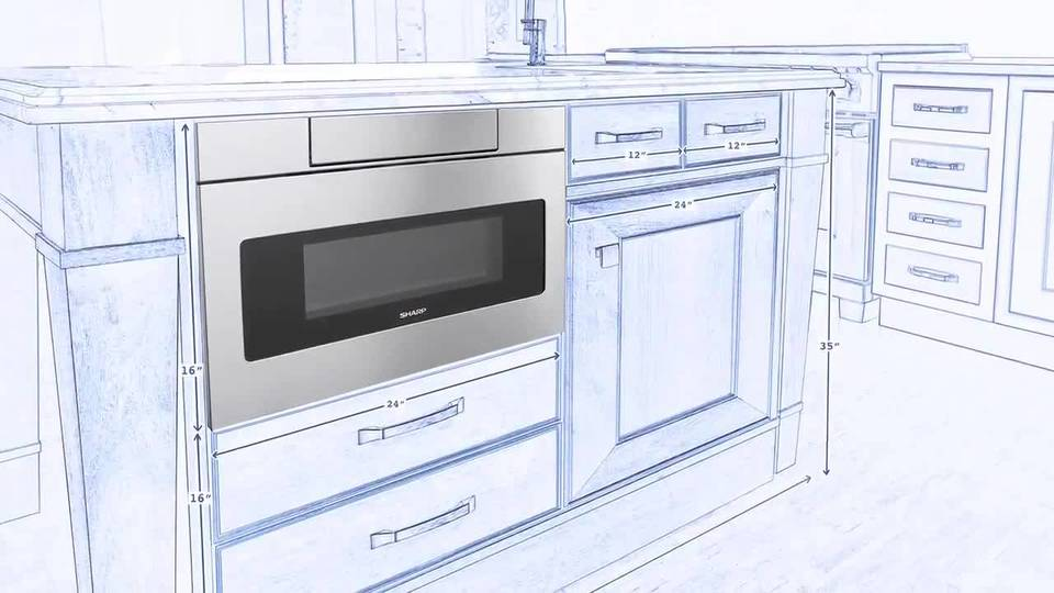 Sharp Microwave Drawer Overview